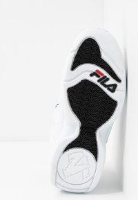 Fila - GRANT HILL 3 - Sneakersy wysokie - white/black - 4
