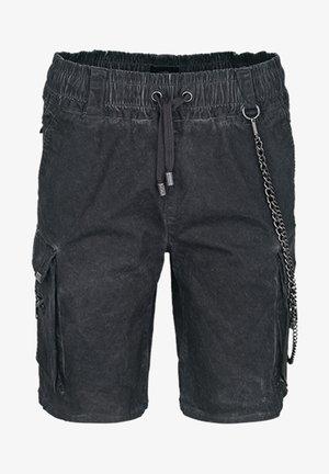 Denim shorts - vintage stone grey