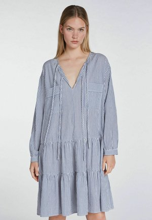 Day dress - blue white