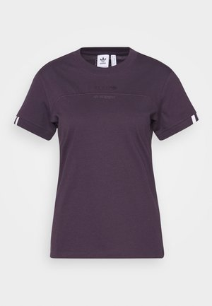 SPORTS INSPIRED SHORT SLEEVE  - Camiseta estampada - noble purple