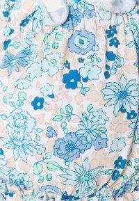 Cotton On Body - GATHERED BACKLESS BANDEAU GATHERED BUM FULL - Bikiny - light blue - 7