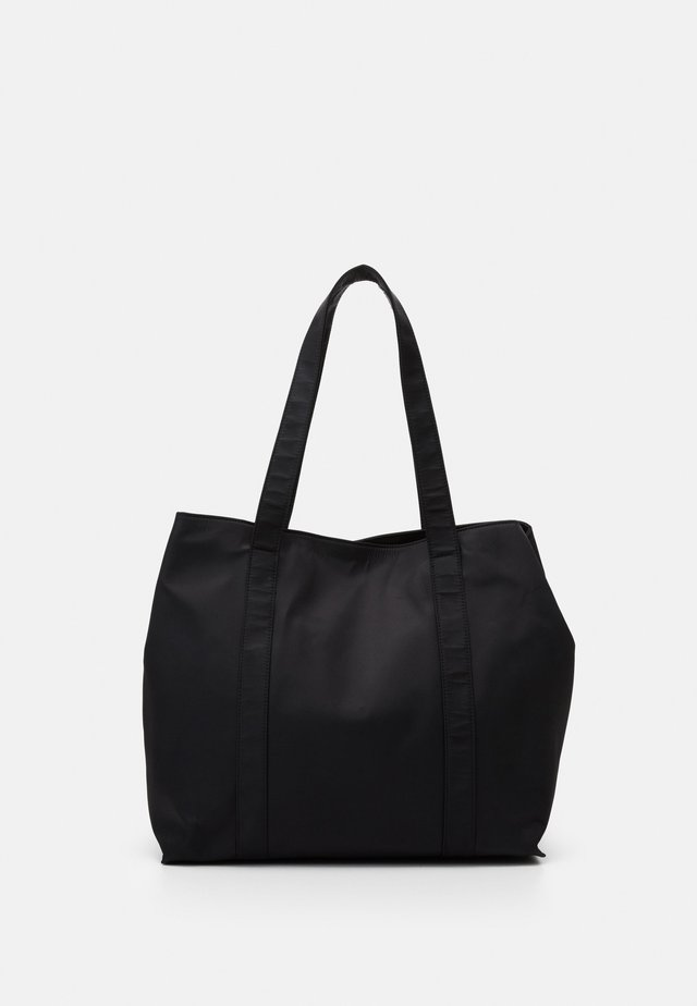 JUNA - Shopping bag - jet black
