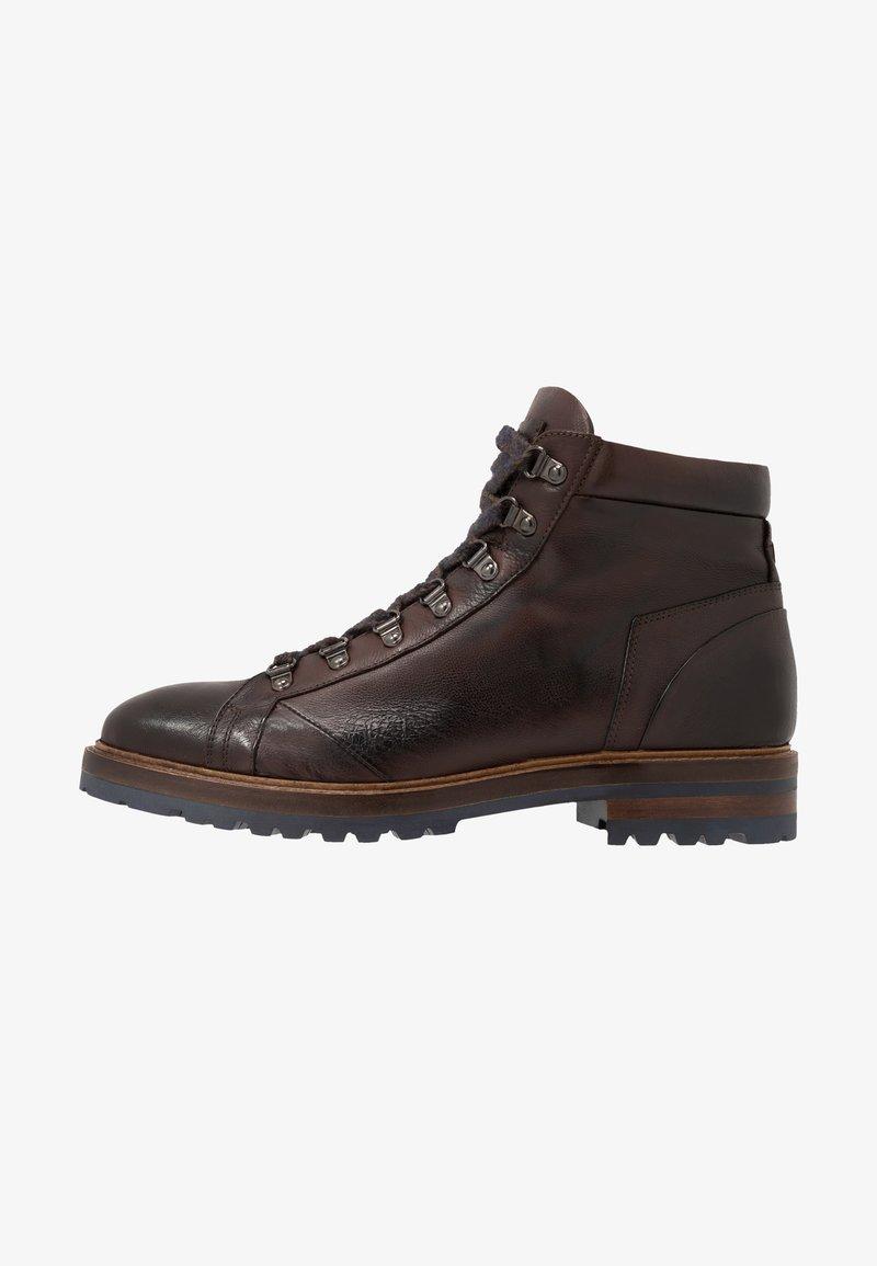 Giorgio 1958 - Lace-up ankle boots - frida testa di moro