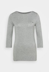 Tommy Hilfiger - BOAT NECK TEE 3/4 - Long sleeved top - grey - 5