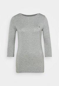 BOAT NECK TEE 3/4 - Long sleeved top - grey