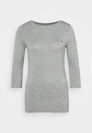 BOAT NECK TEE 3/4 - T-shirt à manches longues - grey