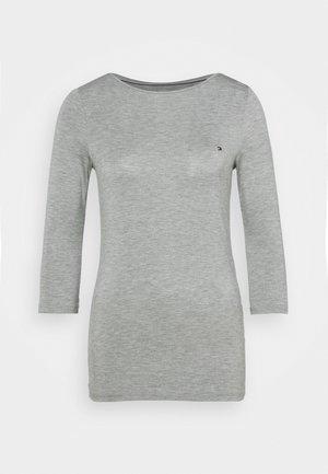 BOAT NECK TEE 3/4 - Top sdlouhým rukávem - grey