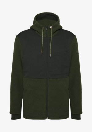 MENS MANUKAU JACKET - Veste polaire - spinach