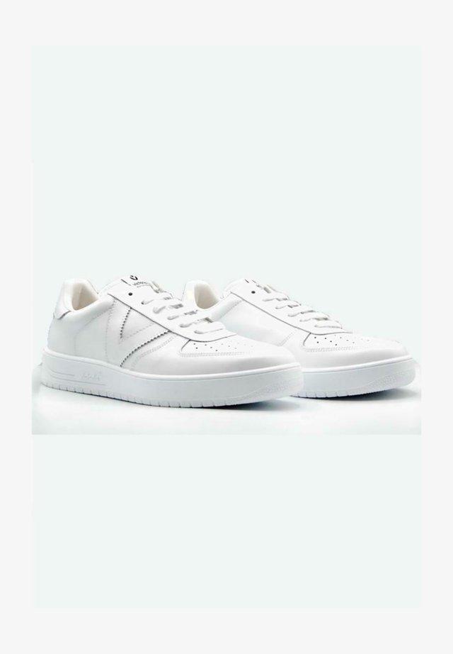 Baskets basses - blanco