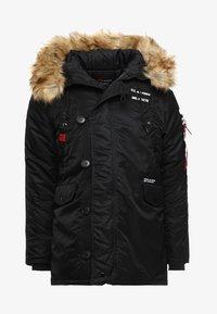 Alpha Industries - AIRBORNE - Winter coat - black - 8