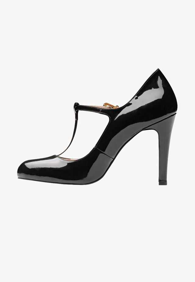 CRISTINA - Zapatos altos - black