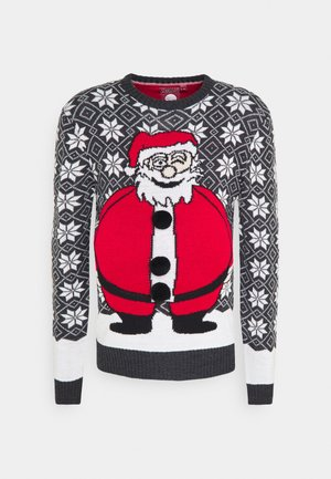 XMAS - Jumper - charcoal/white