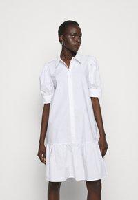 Bruuns Bazaar - ROSIE ALISE - Shirt dress - white - 0