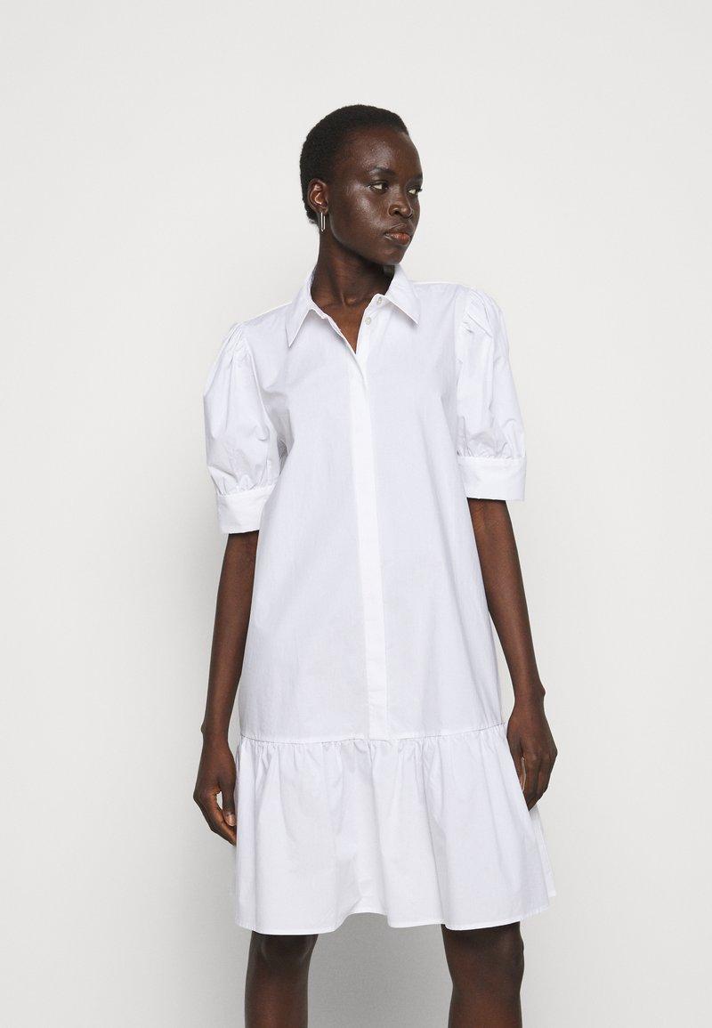 Bruuns Bazaar - ROSIE ALISE - Shirt dress - white