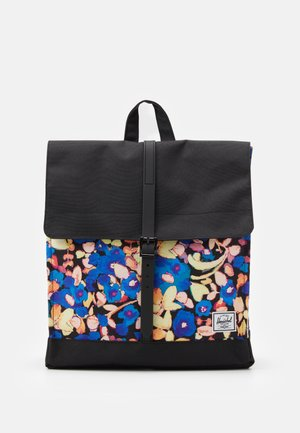 CITY MID VOLUME - Rucksack - black/brushstroke