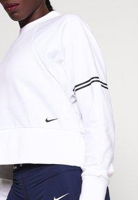 Nike Performance - DRY GET FIT - Sweatshirt - white/black - 5