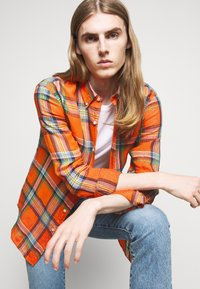 Polo Ralph Lauren - PLAID - Shirt - orange/blue - 3