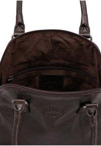 Klondike 1896 - ELLA - Handbag - dunkelbraun - 4