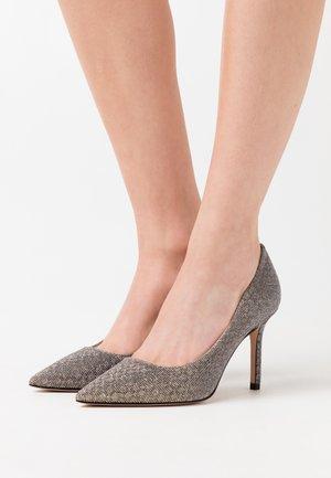 INES - Zapatos altos - silber