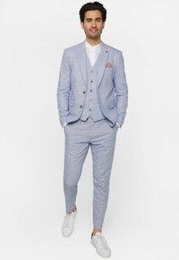 WE Fashion - MIT HAHNENTRITTM - Pantalon - blue - 1