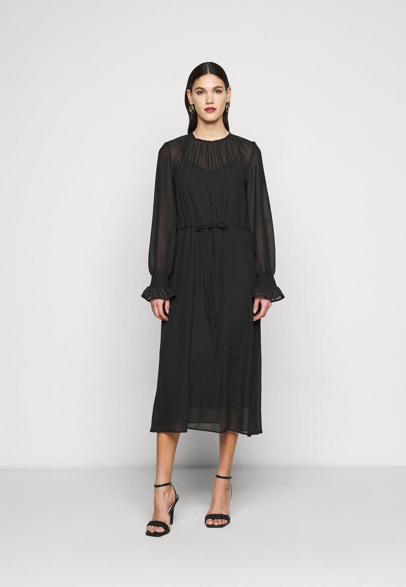 True Violet Tall - DRESS - Kjole - black