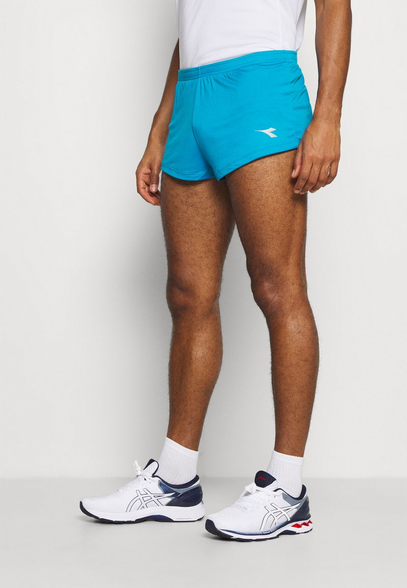 Diadora - RACE SHORTS TEAM UP - Pantalón corto de deporte - blue fluor