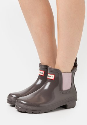 WOMENS ORIGINAL CHELSEA GLOSS - Wellies - seep/powder purple