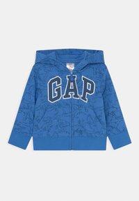 GAP - TODDLER BOY NOVELTY LOGO - Bluza rozpinana - tile blue - 0