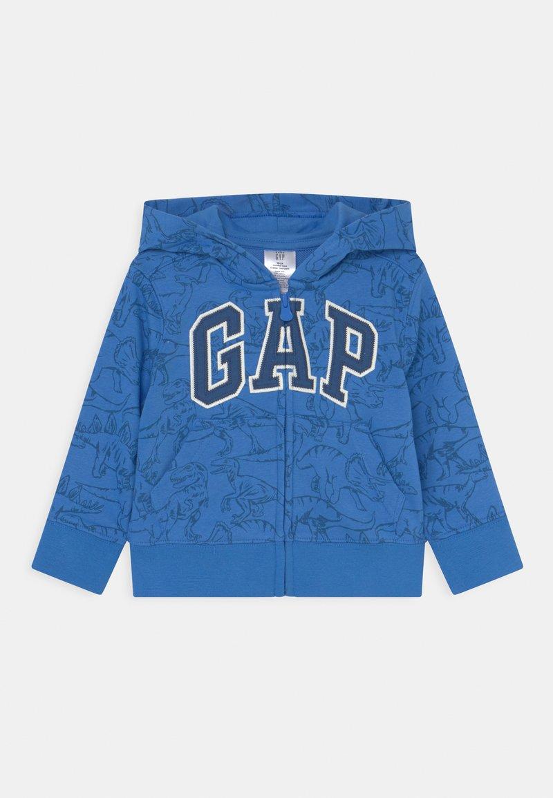 GAP - TODDLER BOY NOVELTY LOGO - Bluza rozpinana - tile blue