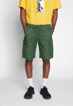Shorts - multi-coloured/olive