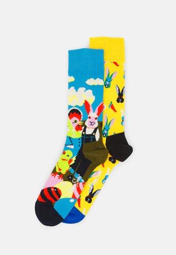 EASTER SOCKS GIFT UNISEX 2 PACK - Socks - multi