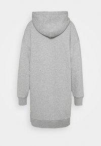 CLOSED - Hoodie - grey heather melange - 1