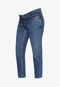 Topshop Maternity - 32'STRAIGHT CLEAN - Straight leg jeans - blue denim - 5