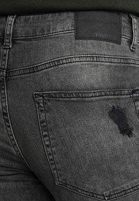 Pier One - Skinny džíny - black denim - 5