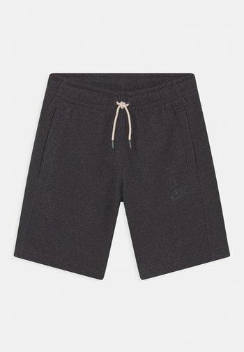 UNISEX - Shorts - black/dark smoke grey