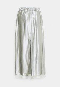 MM6 Maison Margiela - A-line skirt - light grey - 7