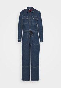 Tommy Jeans - ZIP BOILER SUIT - Jumpsuit - blue - 5