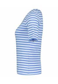 GANT - GANT DAMEN SHIRT KURZARM - Print T-shirt - blau - 2