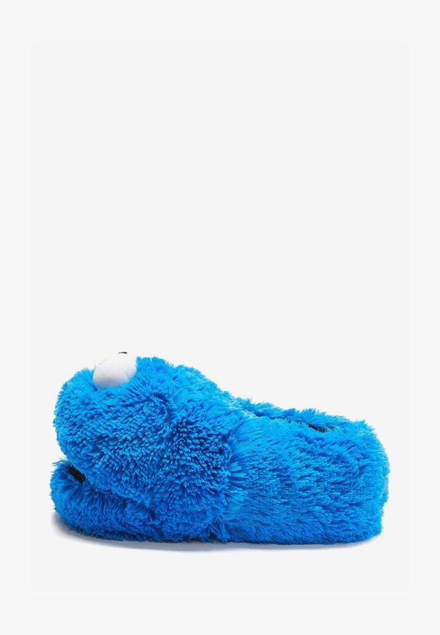 COOKIE MONSTER - Pantoffels - blue