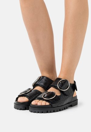 SASHA - Sandals - black