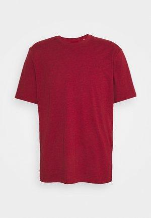 DERO - Jednoduché triko - medium red