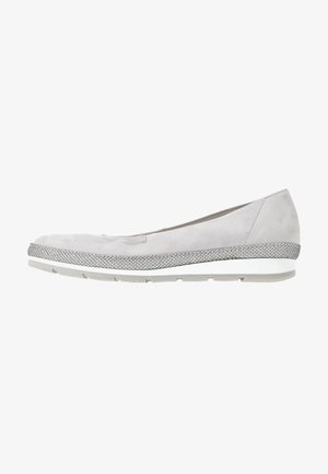 Ballet pumps - light grey