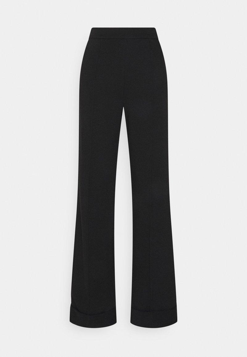 NA-KD Tall - WIDE LEG PANTS - Pantaloni sportivi - black