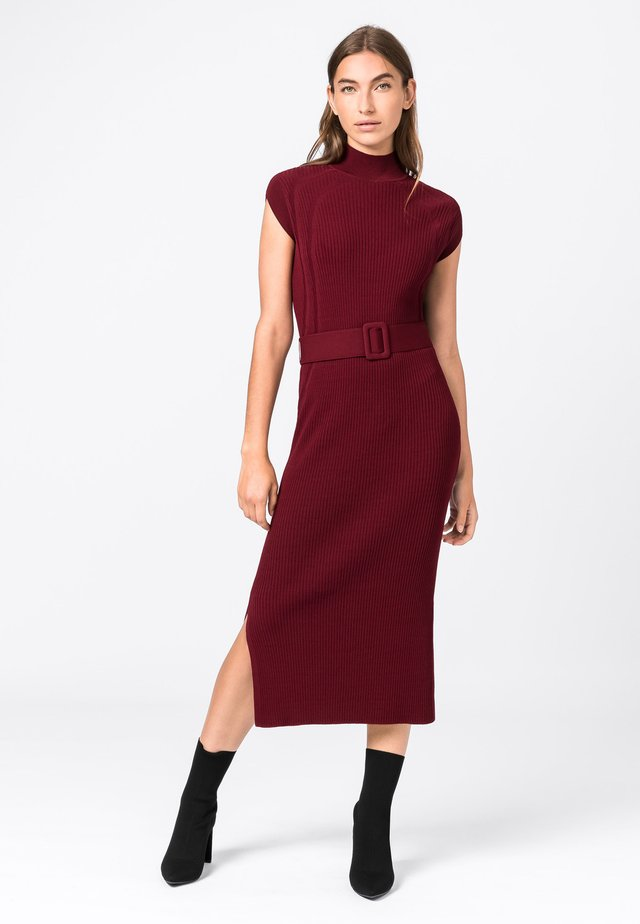 Jumper dress - rubis