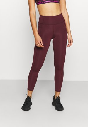 LIFESTYLE POCKET - Leggings - mulberry laser