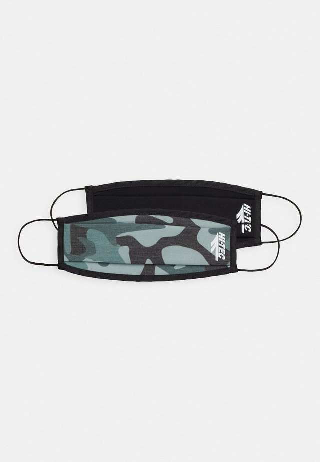 MEECA FACE MASK 2 PACK - Community mask - black - camo