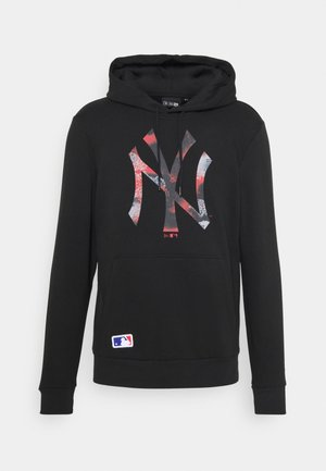 NEW YORK YANKEES MLB INFILL LOGO HOODY - Pelipaita - black