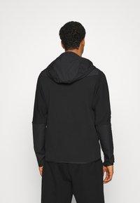 Nike Sportswear - HOODE MIX - Sudadera con cremallera - black - 2