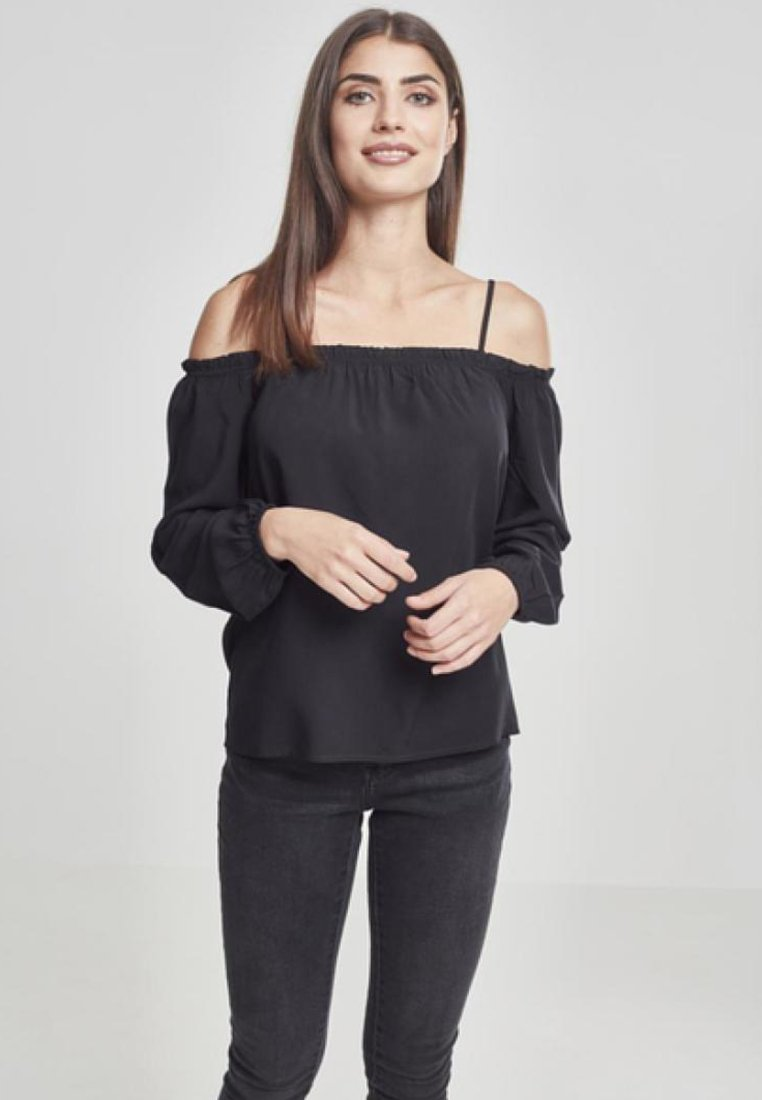 Urban Classics - Long sleeved top - black