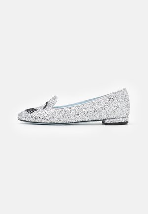 Instappers - silver glitter